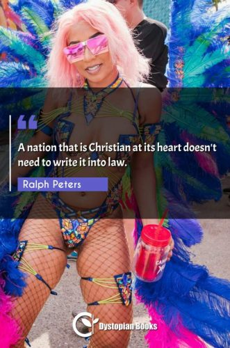 A nation that is Christian at its heart doesn't need to write it into law.