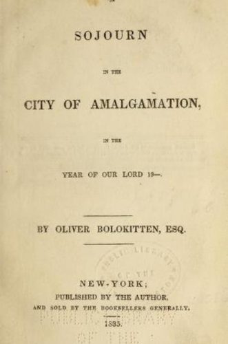 City of Algamation
