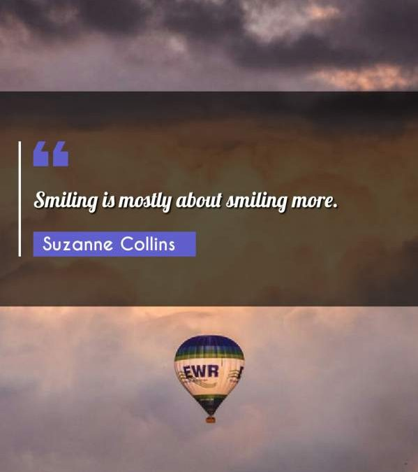 Smiling is mostly about smiling more.