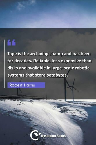 Tape is the archiving champ and has been for decades. Reliable, less expensive than disks and available in large-scale robotic systems that store petabytes.