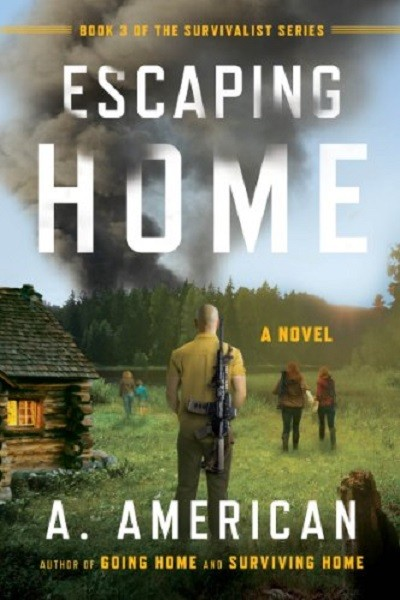Dystopian Book Escaping Home