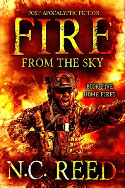 Dystopian Book Fire From the Sky