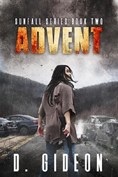 Dystopian Book Sunfall Series Book 2 Advent