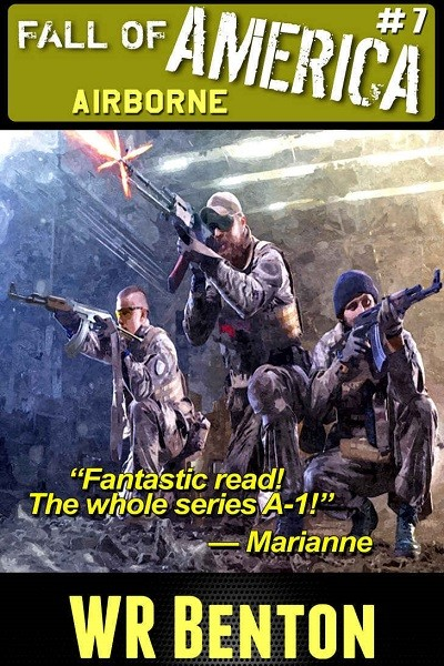 Dystopian Book The Fall of America: Airborne