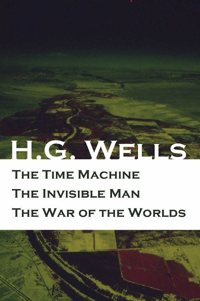 Dystopian Book The Time Machine + The Invisible Man + The War of the Worlds