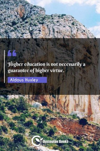 Higher education is not necessarily a guarantee of higher virtue.