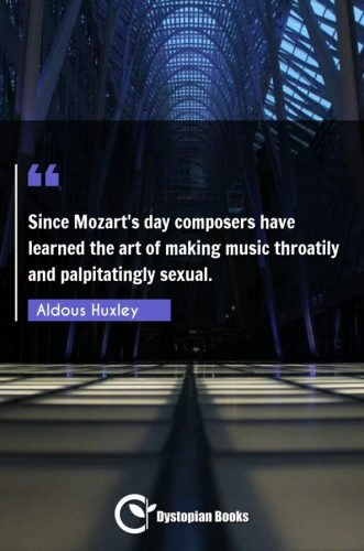 Since Mozart's day composers have learned the art of making music throatily and palpitatingly sexual.