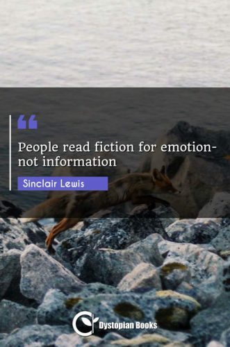 People read fiction for emotion-not information