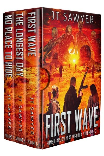 Dystopian Book First Wave - Complete Set
