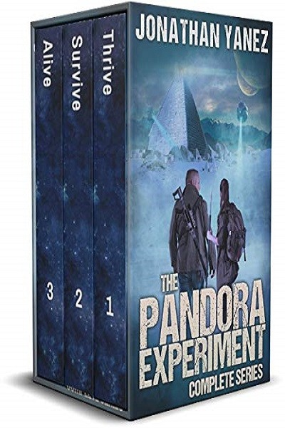 Dystopian Book The Pandora Experiment