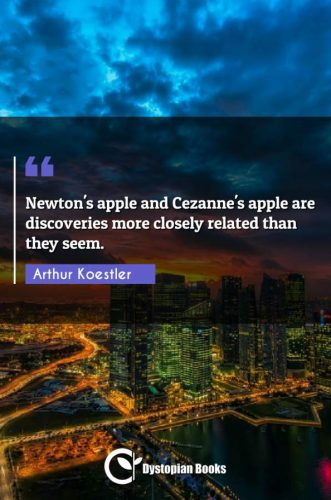 Newton's apple and Cezanne's apple are discoveries more closely related than they seem.